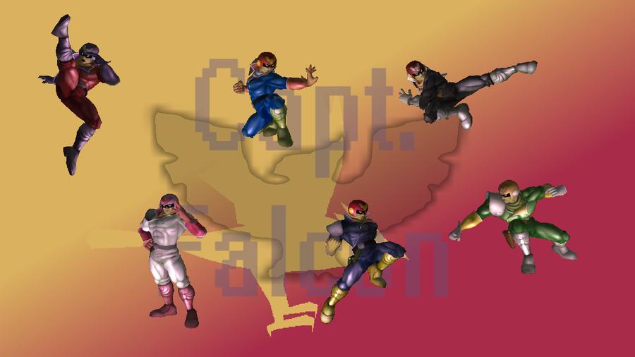 SSBM Wallpaper Capt Falcon By LifeofaGuardian On DeviantArt