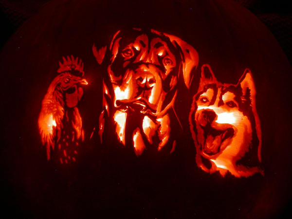 Tenney Farm Carving Commission by Revelation-Six