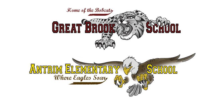 School Mascott Designs by Revelation-Six