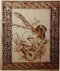 Faerie Pyrography by Revelation-Six