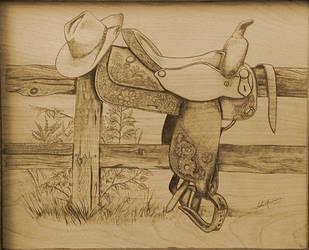 Saddle Woodburn by Revelation-Six
