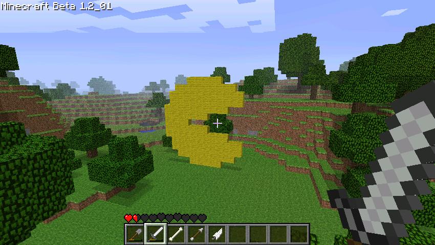 Minecraft Pacman By Flubahogin On DeviantArt