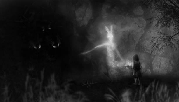 Feeding the Darkness