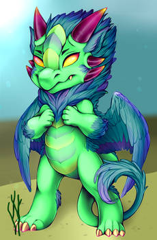 Furvilla Fur Dragon Paintie