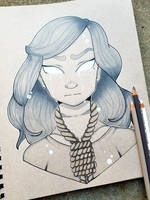 +Inktober 30 - Ghost Witch+ by madhouse-arts