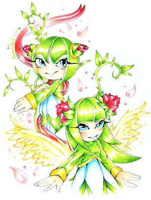 SONIC: Cosmo the Seedrian by Bowgirl5