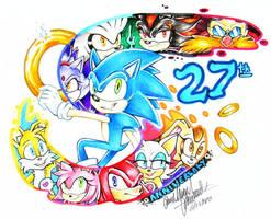 Happy Birthday Sonic! by Bowgirl5