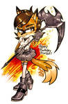 GIFT ART: Happy B-day FOXBIT!! :)