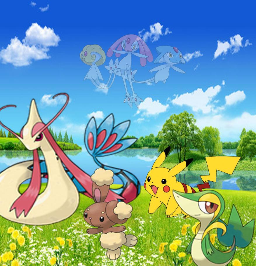 pokemon pikachu and friends by laila549 on DeviantArt