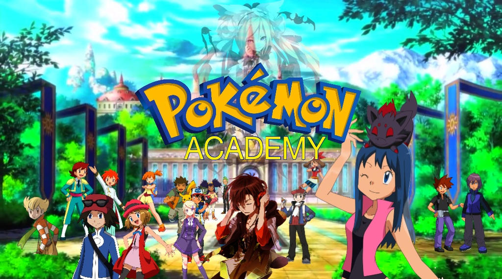 Pokemon academy story promo image by laila549