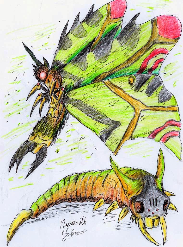 Gigamoth V2 by hewhowalksdeath
