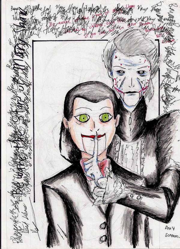 Dead silence don t scream by hewhowalksdeath