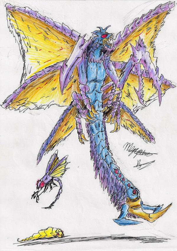 Megaguirus by hewhowalksdeath