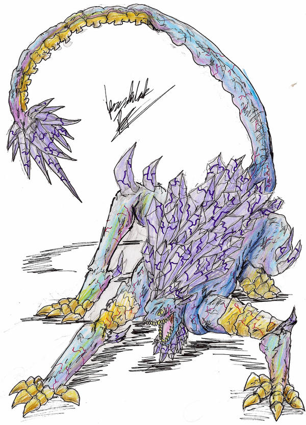 Krystalak by hewhowalksdeath