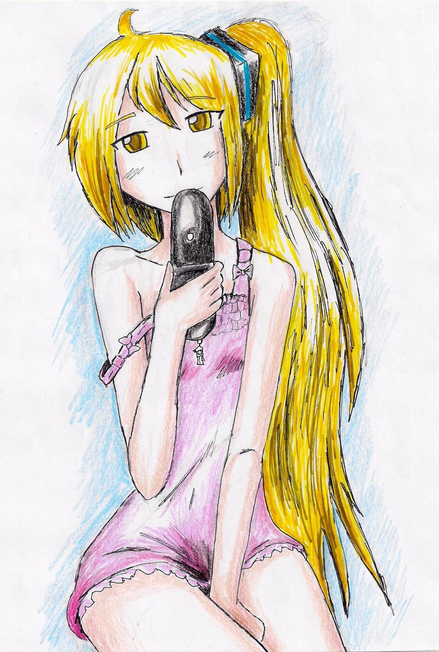 Akita Neru: Honey by hewhowalksdeath