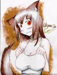 Werewolf girl Okegawa-Tan