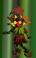 The Skull Kid by I-Am-Midna