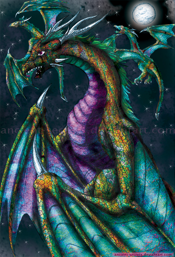 Dragon Flight by ancient-secrets