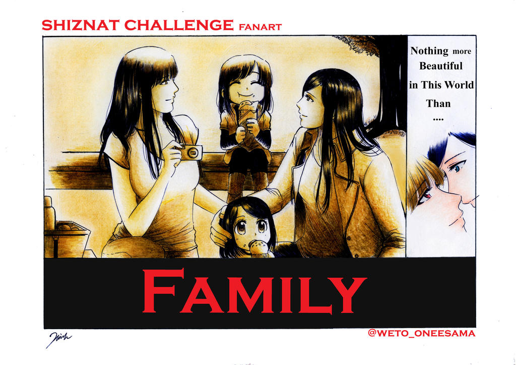 Shiznat Challenge fanart No: 046 Family