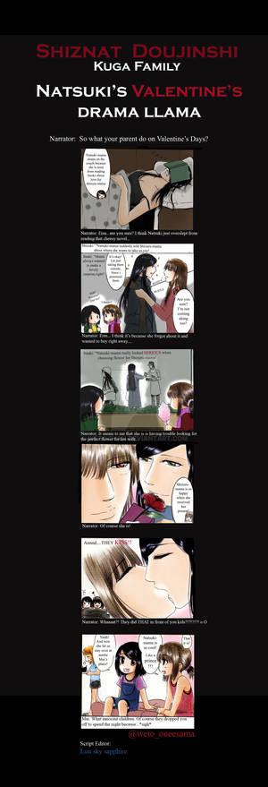 Natsuki's Valentine's drama llama