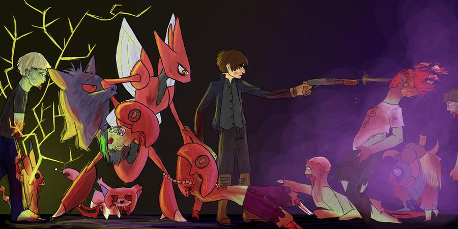 Pokemon Zombies By Beautifully Demonic On DeviantArt
