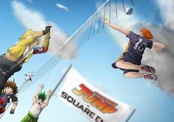 Square Enix vs Shounen Jump  -  The GA-HQ Comp by Unfallen-Skies
