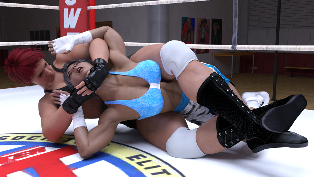 Alicia wells vs Tamao Silver 10 by suzukishinji