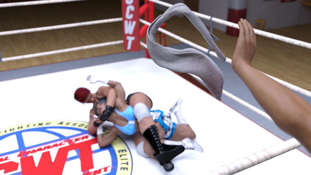 Alicia wells vs Tamao Silver 11 by suzukishinji