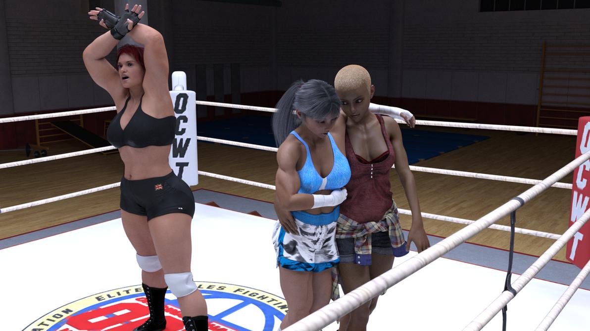 Alicia wells vs Tamao Silver 12 by suzukishinji
