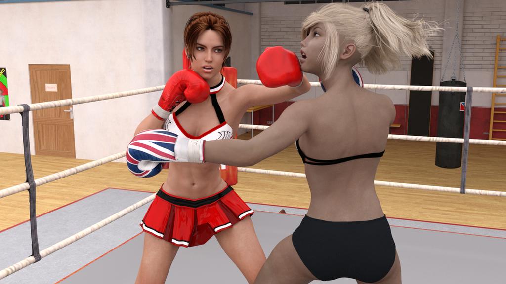 Anne vs Cassie 01-09 by suzukishinji