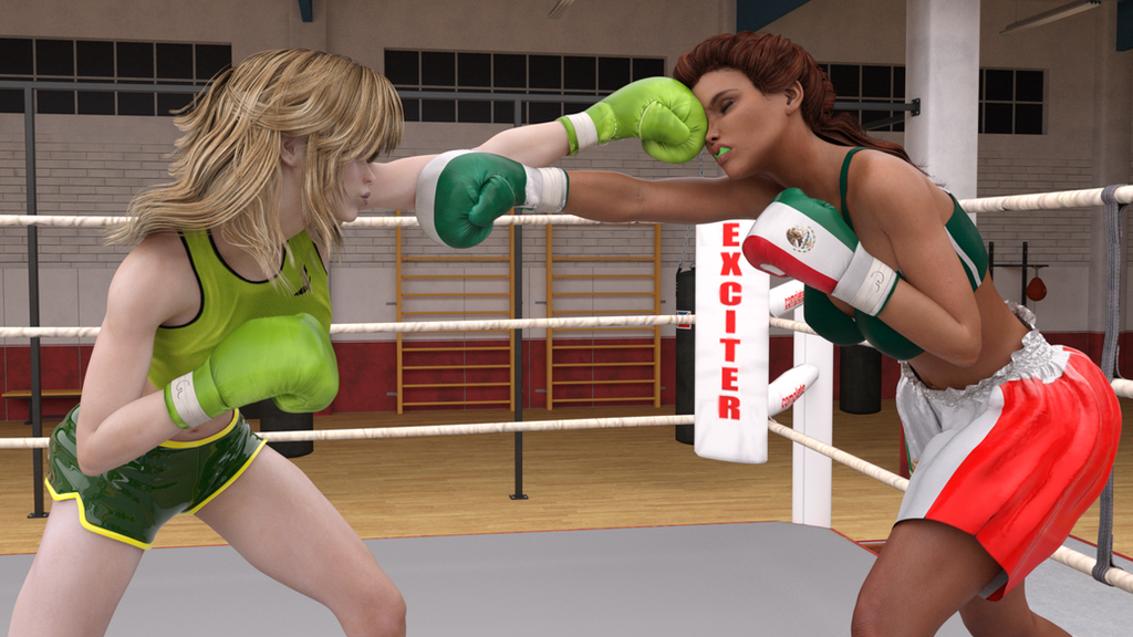 Ana Gonzales vs Cassara Monetti 82 by suzukishinji