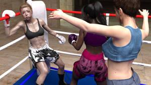 Carmen vs Chihiro preview 07 by suzukishinji