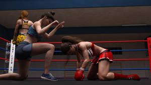 Anne vs Lacie 11 by suzukishinji