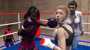 Carmen vs Chihiro Kazuya 2-053 by suzukishinji