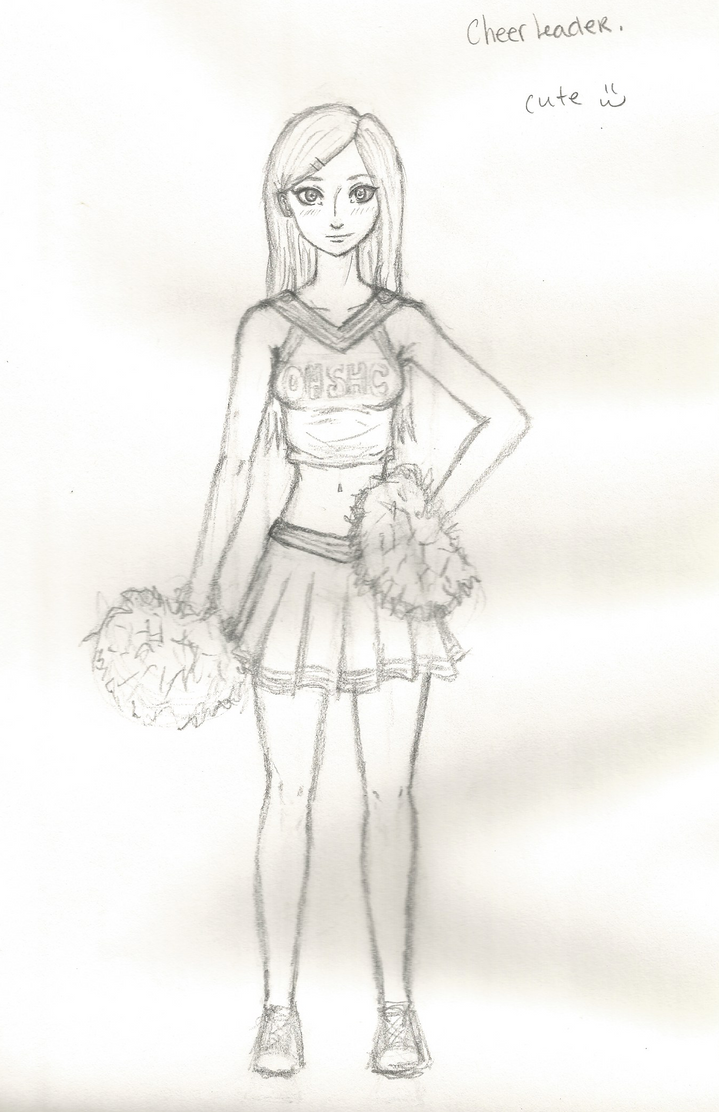 cute cheerleader by kasse333