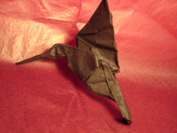 Origami Hummingbird by KamiWasa on DeviantArt - photo#30