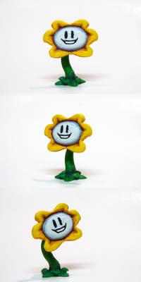 Undertale Flowey 3D Printed-Painted