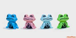 Undertale Froggit 3D Print + Paint