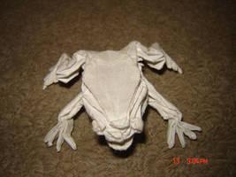 Origami Frog by KamiWasa