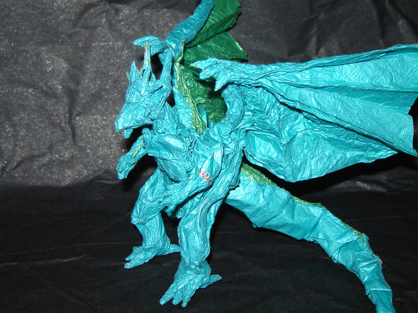 Origami Bahamut The 2nd By KamiWasa