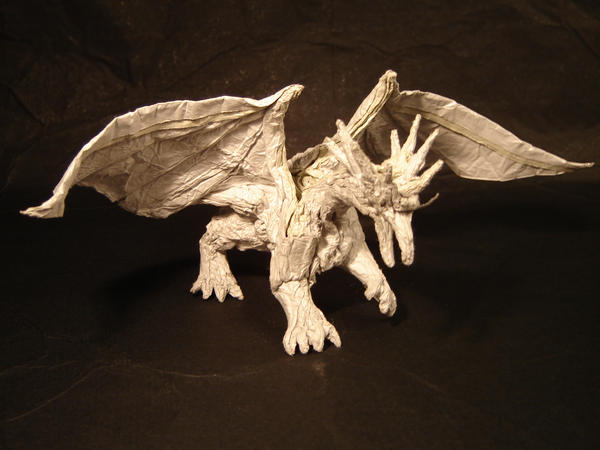 Origami Dragon Instructions INSTRUCTIONS FOR ORIGAMI CHINESE DRAGON