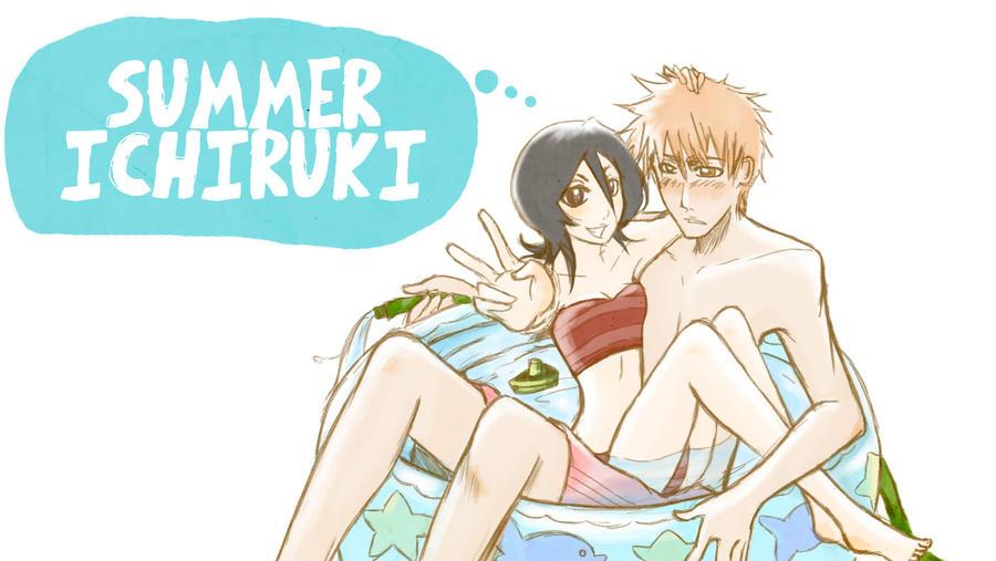 Summer Ichiruki by burnedbacon