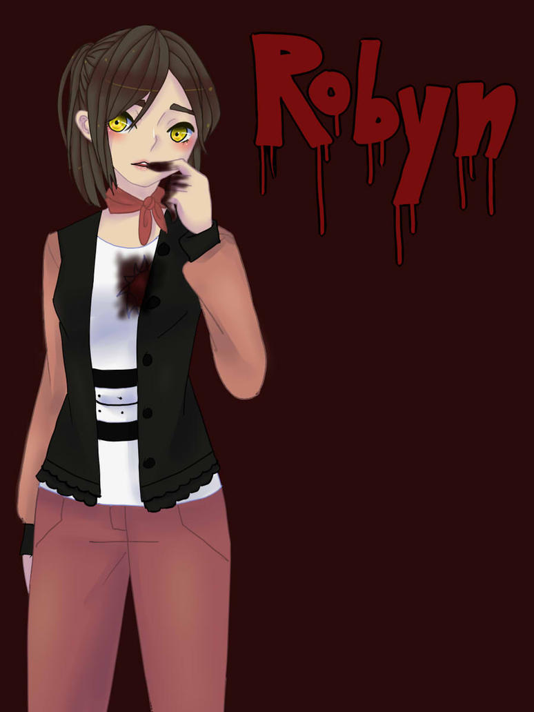 Robyn Art Trade with Ruleria-the-Red by cutepanda88