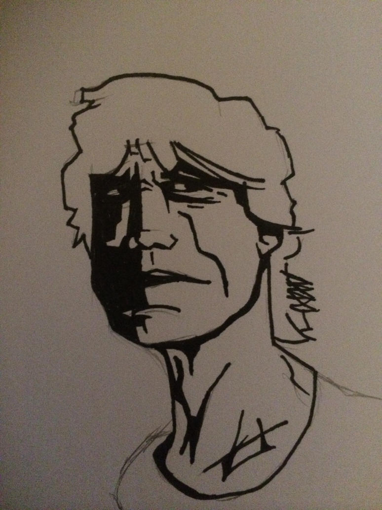 Mick Jagger Pen portrait by CynicalCouch
