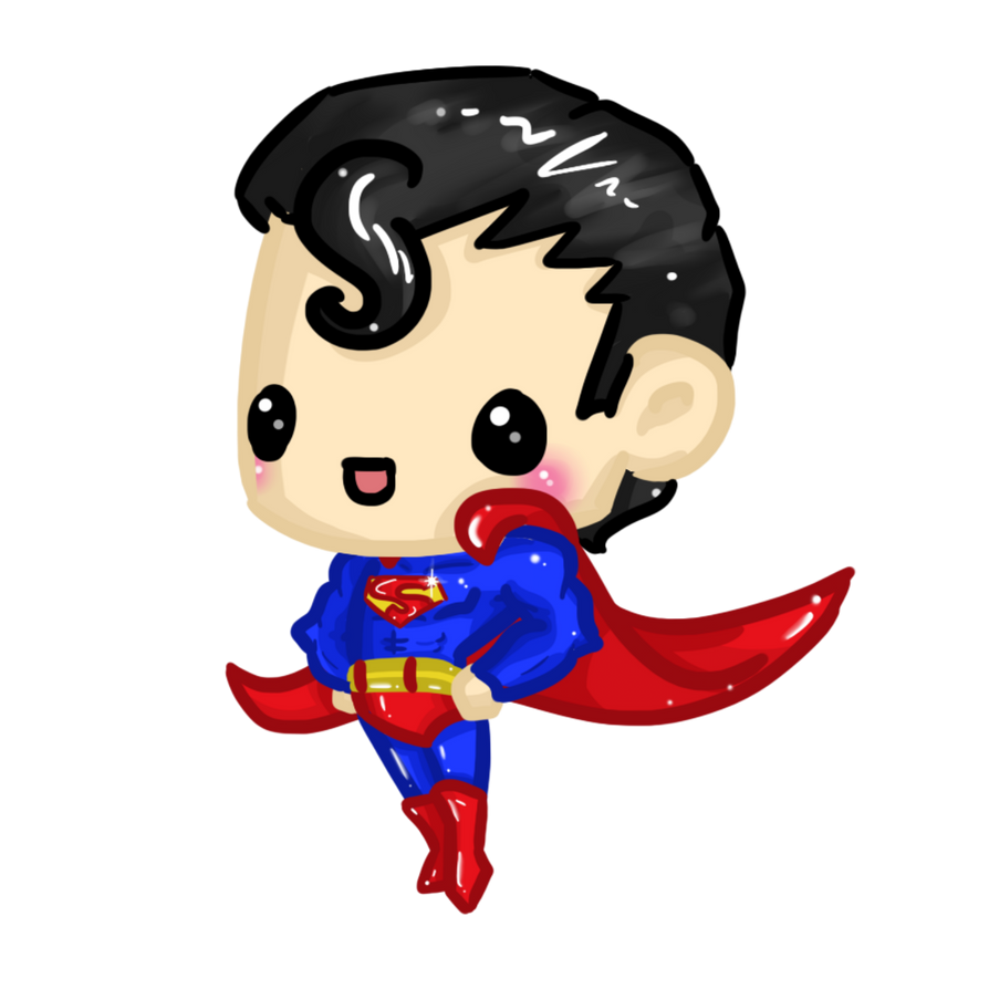 cute superman flying drawing - photo #15
