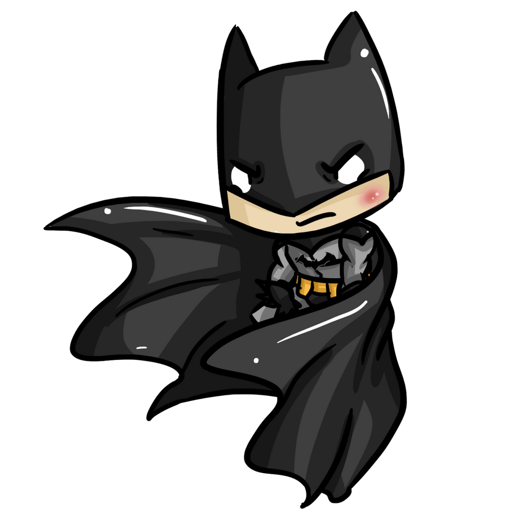 Super Chibis Batman Dark Knight Bruce Wayne By Ijen Ekusas On Deviantart