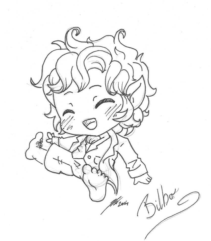 WIP: Bilbo~! by Ijen-Ekusas