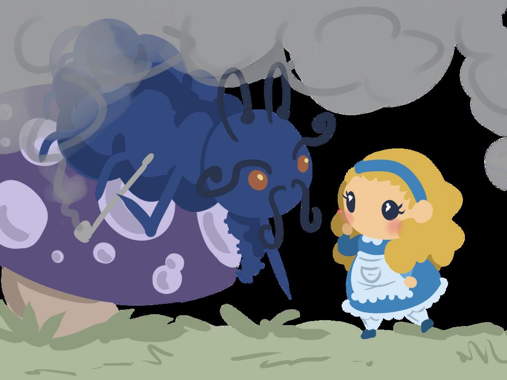 Alice in Wonderland by Ijen-Ekusas
