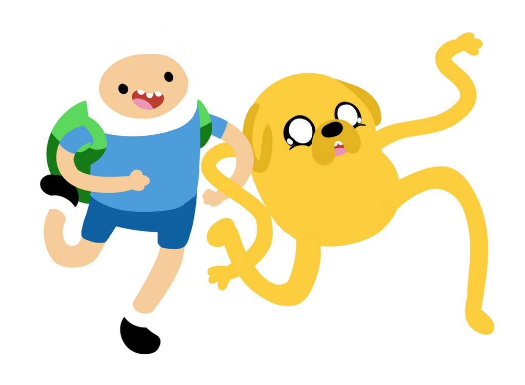 Finn and Jake by Ijen-Ekusas