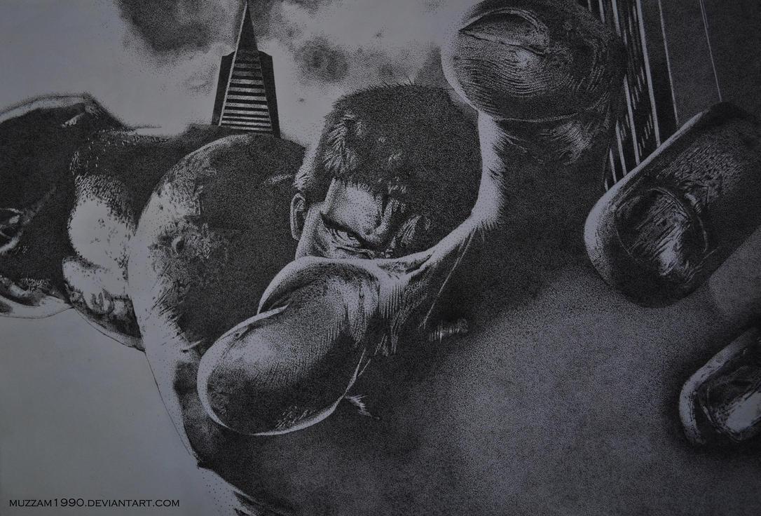 The Dotted Hulk by muzzam1990